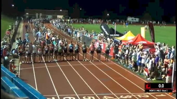 Men's Mile - Merber 3:54, Drew Hunter & MikeyBrannigan 3:57!
