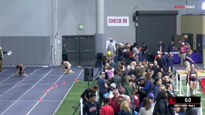 Men's 400m, Heat 7
