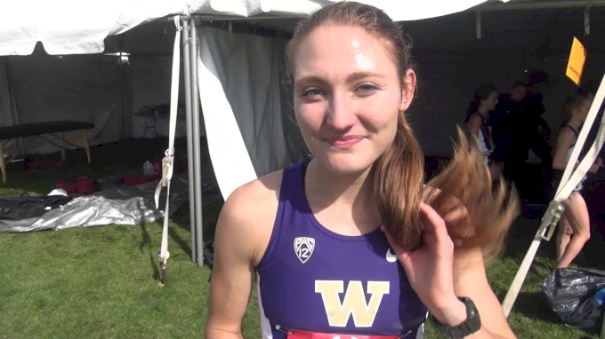 Washington's Amy Eloise-Neale after a breakout performance at Wisco