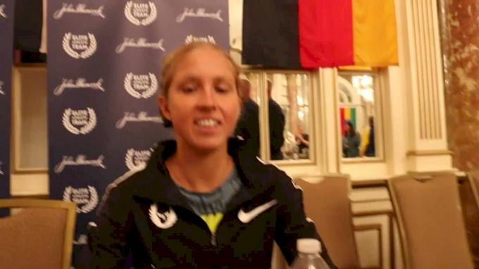Jordan Hasay's Foot Is Fine; Her Weekly Long Run Is Literally A Marathon