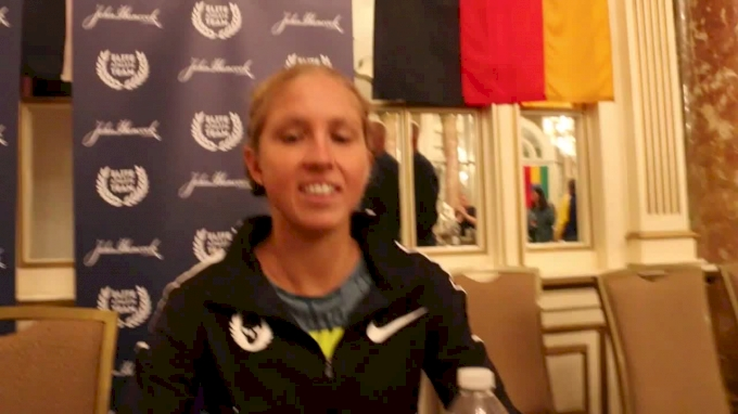 Jordan Hasay's Foot Is Fine; Her Weekly Long Run Is Literally A Marathon
