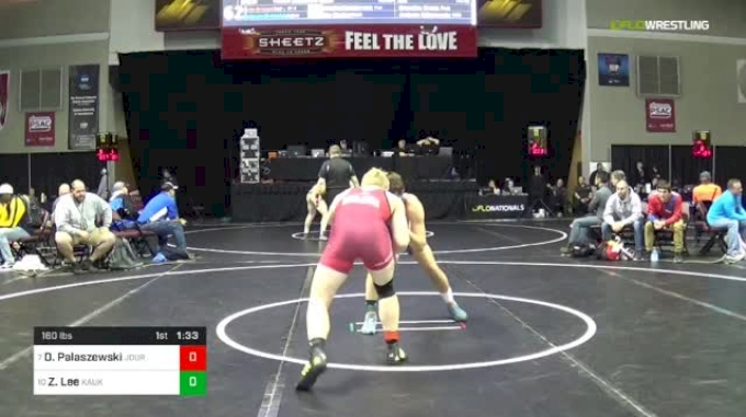 160 lbs Round Of 16 - Dillan Palaszewski, Journeymen vs Zach Lee, Kaukauna Grappling Ghosts