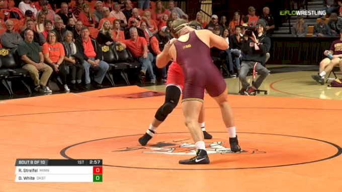 285 lbs Dual - Rylee Streifel, Minnesota vs Derek White, Okst