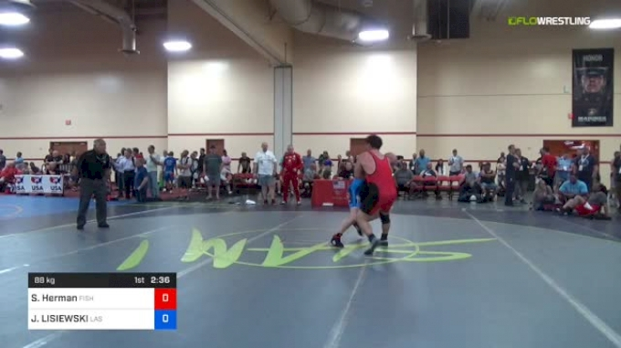 88 kg 3rd Place - Scott Herman, Fish vs JANUSZ LISIEWSKI, Las Vegas WC