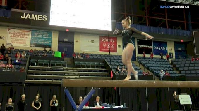 Marissa Oakley - Beam, Georgia - 2018 Elevate the Stage - Augusta (NCAA)