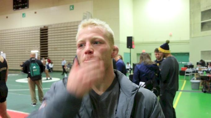 Chance Marsteller Balances Dad-Life With Wrestling