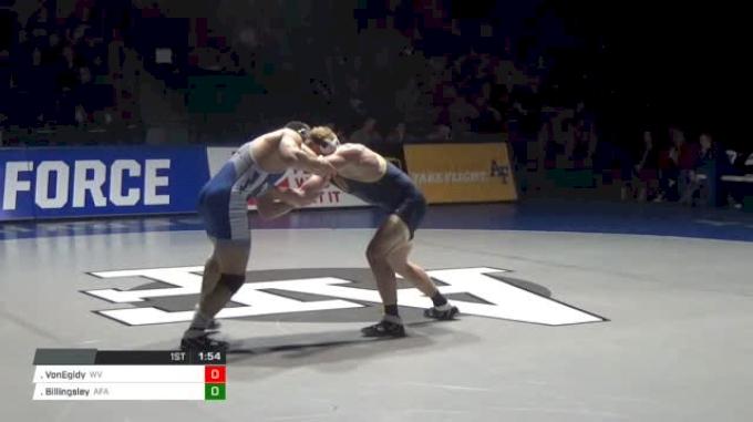 174 lbs Parker VonEgidy, WV vs Michael Billingsley, AFA