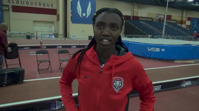 Ednah Kurgat excited for her first Mountain West track meet