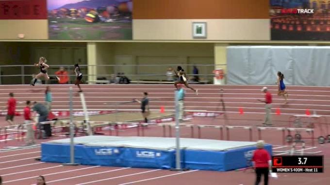 Women's 400m, Heat 11