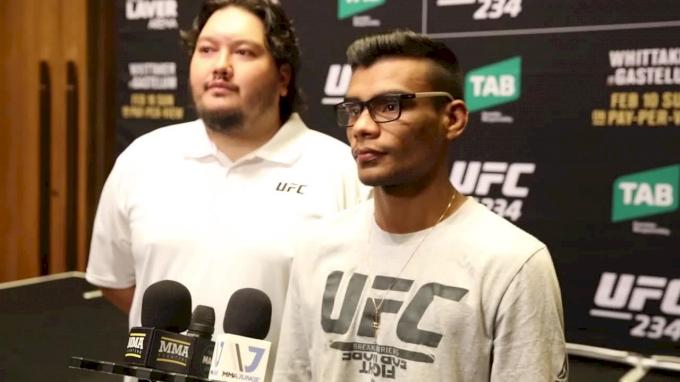 UFC 234: Raulian Paiva Full Interview