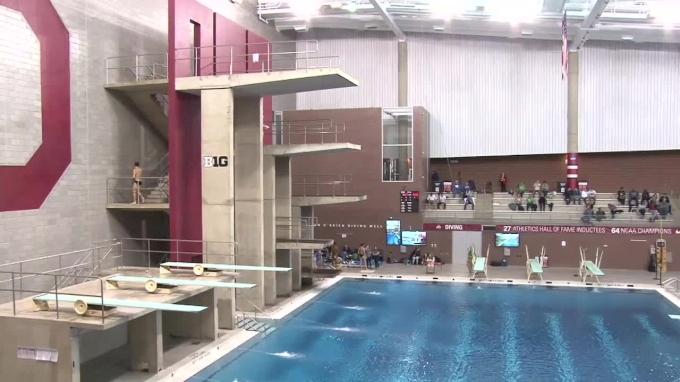 2018 OSU Invitational Diving | Big Ten Men's Swimming