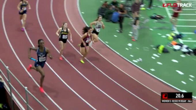 Women's 4x400m Relay, Heat 8