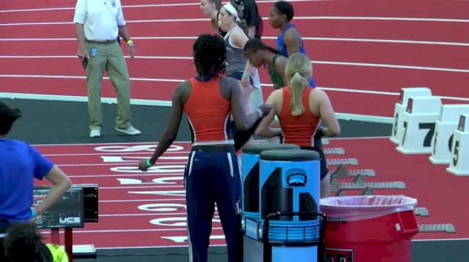 Women's Pentathlon 60m Hurdles, Heat 3