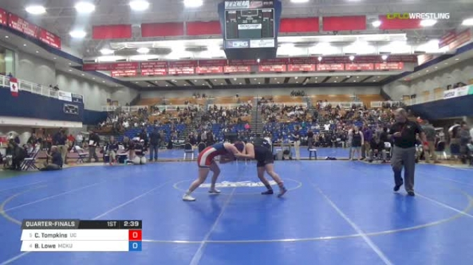 191 lbs Quarterfinal - Courteney Tompkins, University Of The Cumberlands vs Brandy Lowe, McKendree University