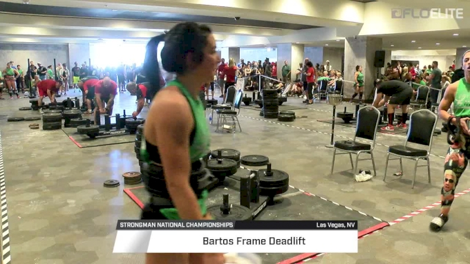 2017 Strongman Nationals Middleweight Women's Frame Deadlift