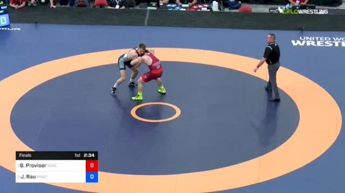 87 kg Final - Ben Provisor, NYAC/NLWC vs Josef Rau, Minnesota Storm