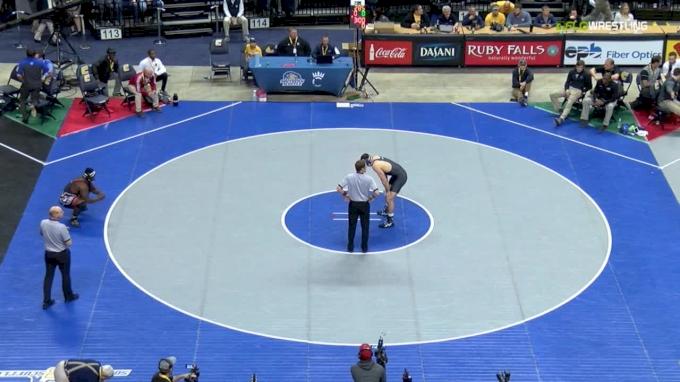 285 f, Jacob Kasper, Duke vs Michael Boykin, NC State