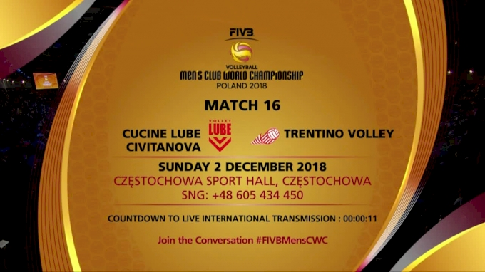 Cucine Lube vs. Trentino Volley