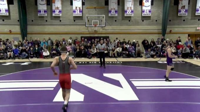 197 lbs, Willie Scott, Rutgers vs. Zack Chakonis, Northwestern