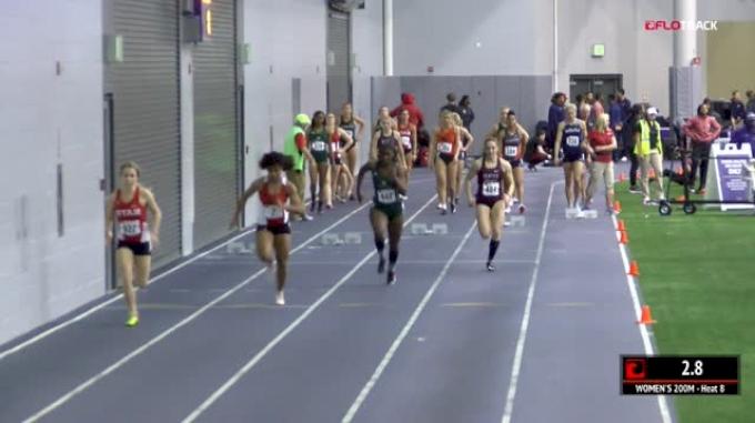 Women's 200m, Heat 8