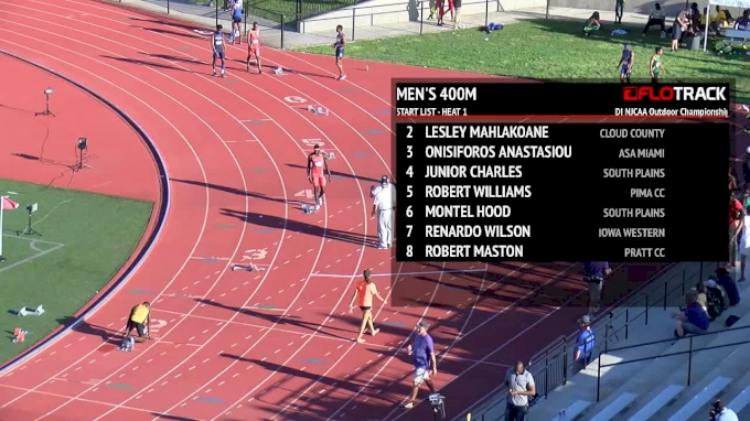 2018 DI NJCAA Outdoor Championships, Day 1 Part 3