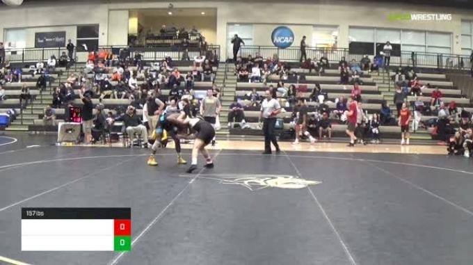157 lbs David Carr vs Jeren Glosser