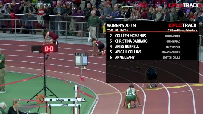 Women's 200m, Heat 24