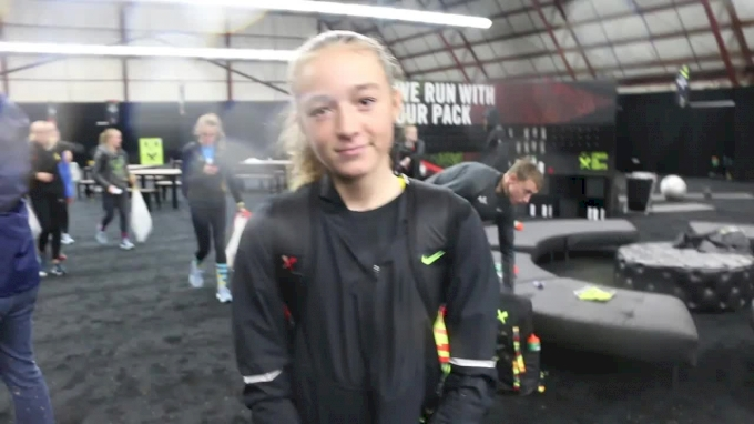 Grace Ping's little sister Lauren placed 11th at NXN as a seventh-grader