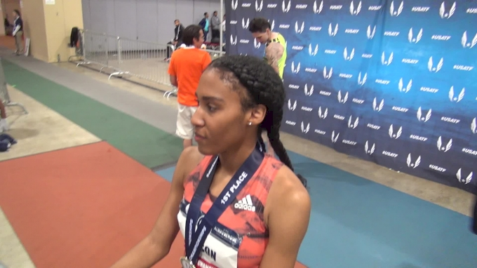 Ajee Wilson after another US 800m title