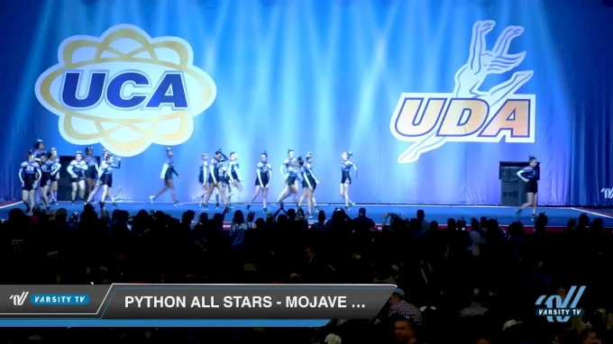 Python All Stars - Mojave Pythons [2018 Senior - Small 4 Day 2] 2018 UCA Smoky Mountain Championship