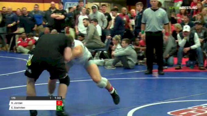 170 lbs Final - Rocky Jordan vs Emil Soehnlen