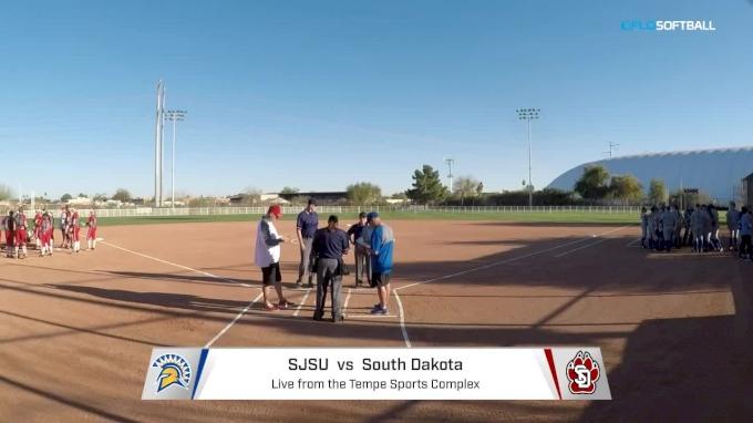 San Jose State vs South Dakota