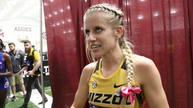 Karissa Schweizer Didn't Plan On Leading The 5K