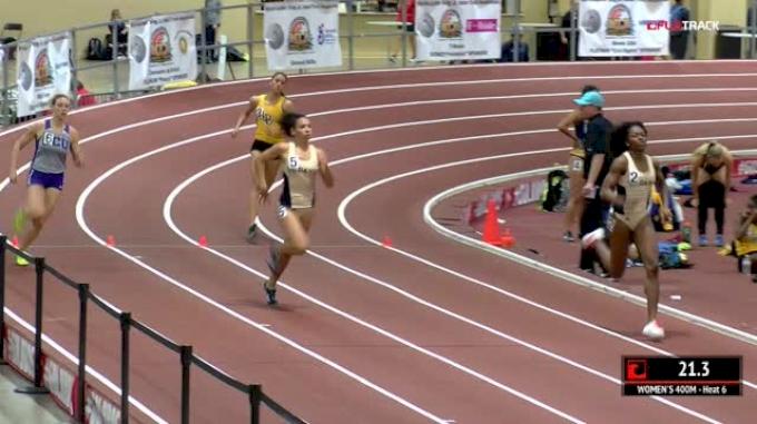 Women's 400m, Heat 6