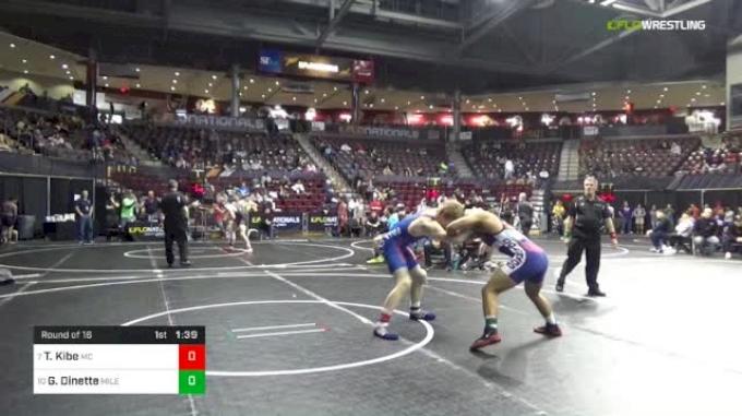 152 lbs Round Of 16 - Trey Kibe, Mifflin County vs Gabriel Dinette, Mile High Wrestling Club Colorado