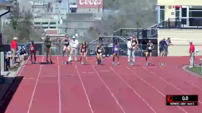 Women's 100m, Heat 3