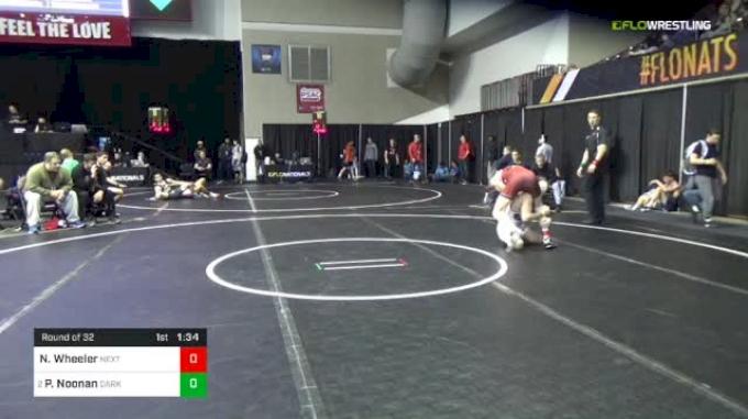 126 lbs Round Of 32 - Nathaniel Wheeler, Next Level Wrestling vs Patrick Noonan, Dark Knights Wrestling Club