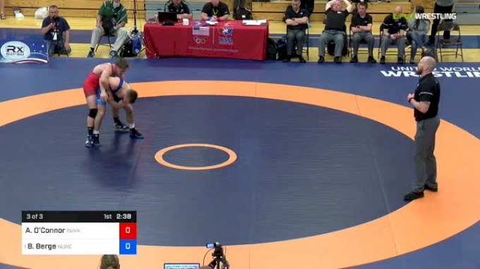 70kg 3 Of 3: Austin O'Connor, Sunkist Kids vs Brady Berge, Nittany Lion WC