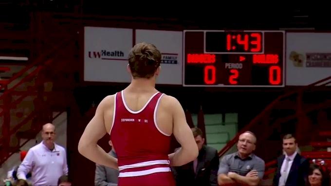 165lbs: Jacob Morrissey, Purdue vs Evan Wick, Wisconsin