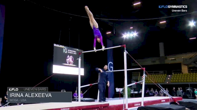 Irina Alexeeva - Bars, Woga - USA - 2018 International Gymnix