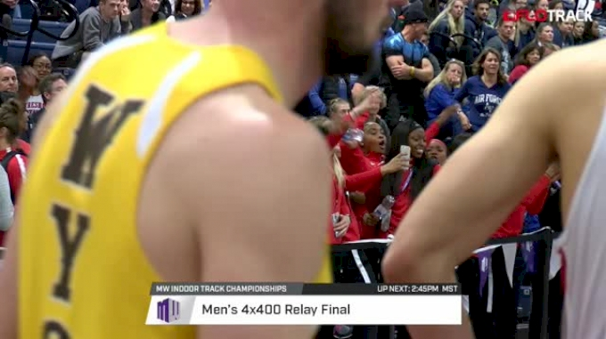 Men's 4x400m Relay, Heat 1