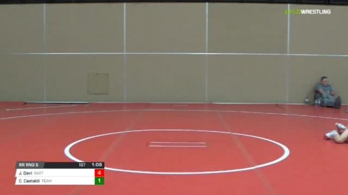 84 lbs Rr rnd 5 - Joey Davi, Buxton Intense Ms vs Cameron Castaldi, Team Delaware MS