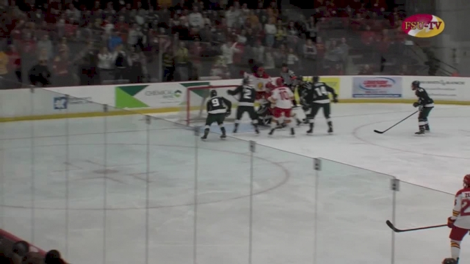 Highlights: Ferris State Pours In 4 Goals In Win Over Michigan State