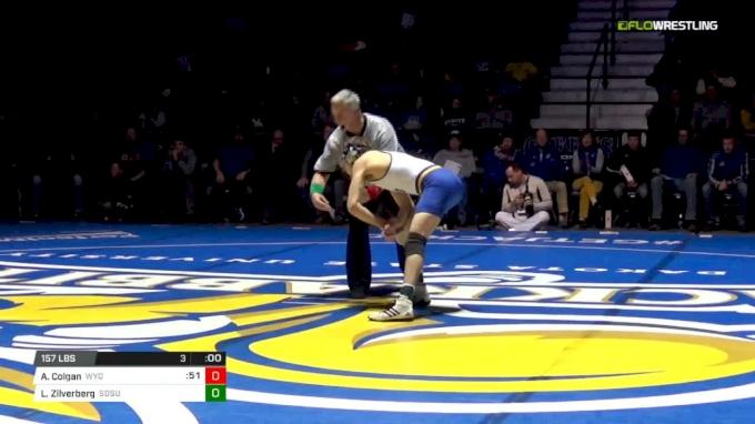 157 m, Archie Colgan, Wyoming vs Luke Zilverberg, SDSU