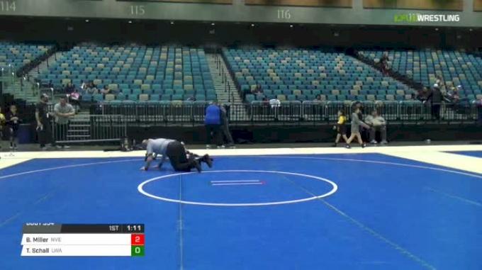 91 lbs Rr rnd 5 - Benjamin Miller, Nevada Elite vs Tucker Schall, LWA
