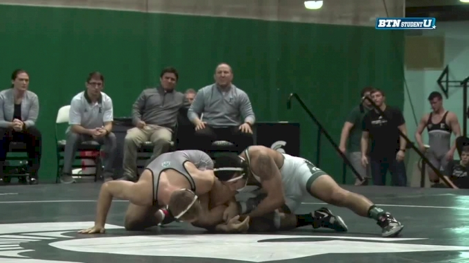 197 m, Derek Hillman, EMU vs Nick May, MSU