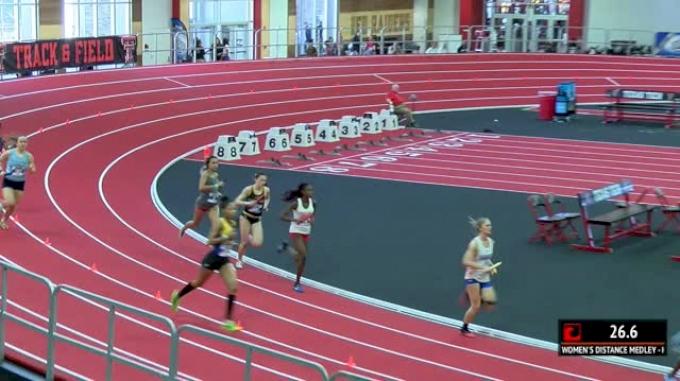 Women's Distance Medley Relay, Heat 2
