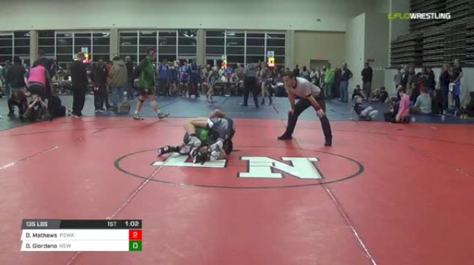 135 lbs Rr rnd 5 - Derek Mathews, Powa Ms vs Derek Giordano, New Generation Wrestling Academy MS