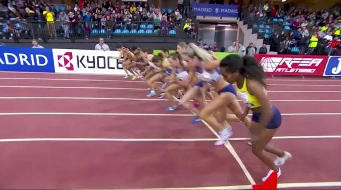 2018 IAAF World Indoor Tour: Madrid Women's 1500m - Dibaba FTW!