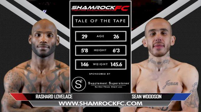 sean woodson vs rashard lovelace shamrock fc 311 full fight replay